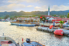 The Kekova village Royalty Free Stock Image