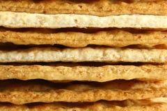 Keks-Cracker Stockfoto