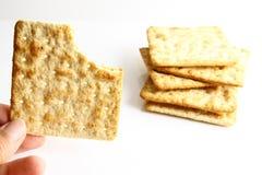 Keks-Cracker Stockbild