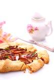 Keks mit Pflaumen lizenzfreie stockfotografie