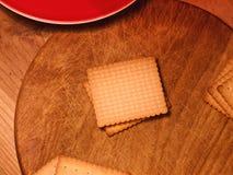 Kekse - butterbiscuits - Küche Lizenzfreie Stockfotos