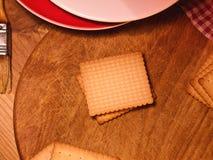 Kekse - butterbiscuits - Küche Lizenzfreies Stockfoto