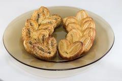 Kekse in einer Glasschüssel Stockfoto