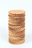 Kekse gefüllt mit Schokolade Stockfotos