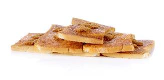 Kekse mit Schweinefleischglasschlacke Stockbilder