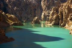 Kel-Su lake. In the mountains Royalty Free Stock Photo