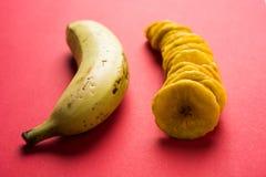 Kela или зажаренные бананом обломоки или вафли Стоковое Изображение