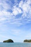 Kelambu beach borneo malaysia Royalty Free Stock Images