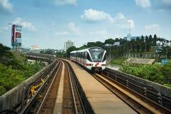 Kelana Jaya Line en Kuala Lumpur Imágenes de archivo libres de regalías