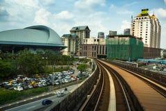Kelana Jaya Line en Kuala Lumpur Fotos de archivo