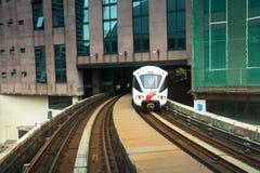 Kelana Jaya Line in Kuala Lumpur Stock Image