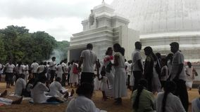 Kelaniya Σρι Λάνκα ναών Στοκ εικόνες με δικαίωμα ελεύθερης χρήσης