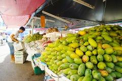 Kelantan uliczny rynek Zdjęcia Royalty Free