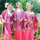 Traditional Malay entire. The Kelantanese Malays, along with Terengganuan Malays and Pahang Malays and sometimes Thai Malays and the Malays of Anambas islands royalty free stock images