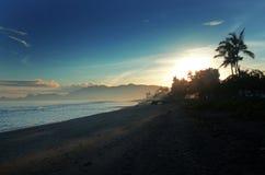 Kelapa plaża fotografia stock