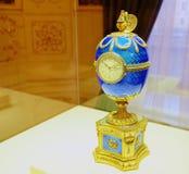 Kelch jajko tworzył za rozkazem Kelch w 1904 jako prezent jego żona Varvara Kelch-Bazanova dla wielkanocy Obraz Royalty Free