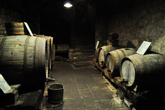 De traditie van de wijn Stock Foto