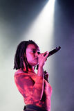 Kelela (band) performs at Primavera Sound 2015 Festival Royalty Free Stock Images