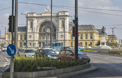 Keleti Railway Station in Budapest, Hungary. Stock Photography