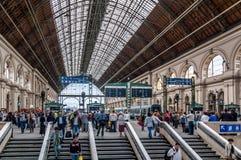 Keleti station, Budapest Stock Photography