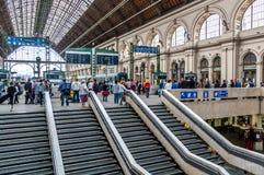 Keleti station, Budapest Stock Images