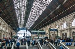 Keleti station, Budapest Stock Photos