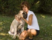 kelhundkvinna arkivfoto