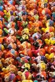 Keliga till salu leksakelefanter Royaltyfria Bilder
