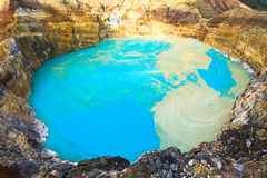 Kelimutu lake Stock Images