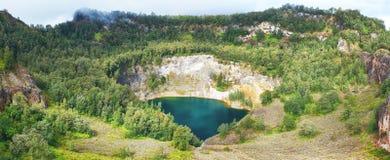 Kelimutu lake Stock Photos