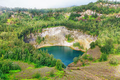 Kelimutu lake Stock Photo