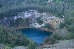Kelimutu - unique lake Tam Stock Photography