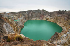 Kelimutu Volcano Royalty Free Stock Images