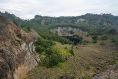 Kelimutu Volcano Stock Photography