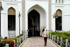 keling马来西亚清真寺的乔治城kapitane 免版税库存图片