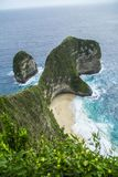 Kelingking Beach, Nusa Penida, Bali Indonesia stock photos
