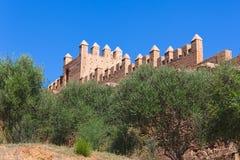 Kellah - Marocco. Ruins of the ancient necropolis of Kellah (Chellah) in the city of Rabat, Morocco Stock Photo