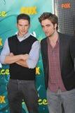 Kellan Lutz,Robert Pattinson Royalty Free Stock Photo