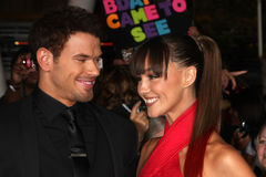 Kellan Lutz, Sharni Vinson Stock Images