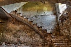Keller eines alten Landhauses Stockfotografie