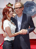 Kelli Garner and Bill Nighy Royalty Free Stock Photography