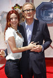Kelli Garner and Bill Nighy. At the World premiere of `G-Force` held at the El Capitan Theater in Hollywood, USA on July 19, 2009 Stock Images
