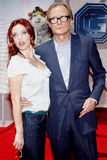 Kelli Garner en Bill Nighy Stock Foto's