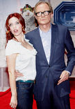 Kelli Garner et Bill Nighy Images stock