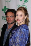 Kelli Garner, Johnny Galecki Royalty Free Stock Photo