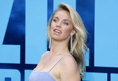 Kelli Garner. At the Los Angeles premiere of `Godzilla: King Of The Monsters` held at the TCL Chinese Theatre in Hollywood, USA on May 18, 2019 royalty free stock images