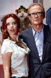 Kelli Garner och Bill Nighy Arkivfoton
