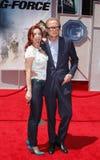 Kelli Garner och Bill Nighy Royaltyfria Foton