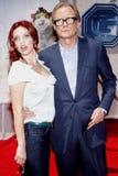 Kelli Garner y Bill Nighy Fotos de archivo