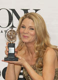 Kelli O'Hara Wins em 69th Tony Awards anual em 2015 Foto de Stock
